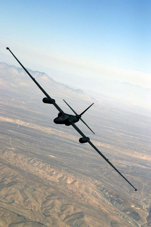 """The Dragon Lady"" - Lockheed U2 spy plane. This plane can fly at 70,000 ft, a.k.a. 13 MILES above the ground. Pilots have gotten the bends from flying it."