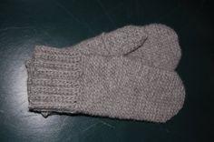 Mönster till virkade vantar med ribbad mudd - Blogg - Mönster på virkat och stickat - Crochetra