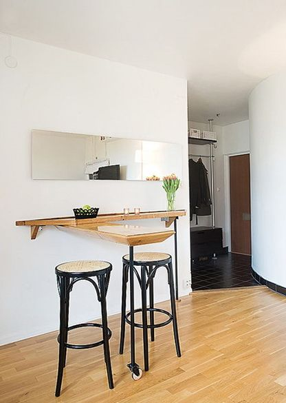 The small and cozy apartment in Sweden