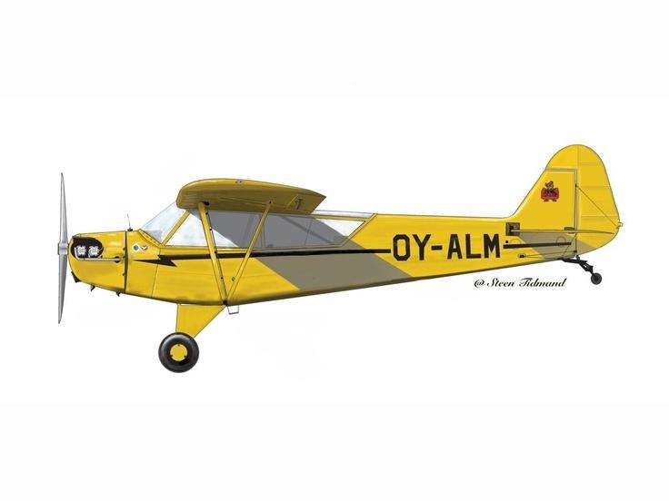 Aircraft OY-ALM Coreldrav  Repaint IPAD