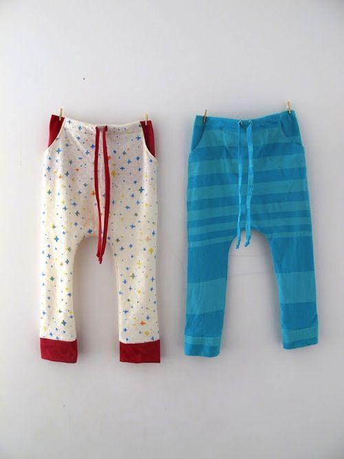 DIY Baby Pajama Pants Sewing Tutorial