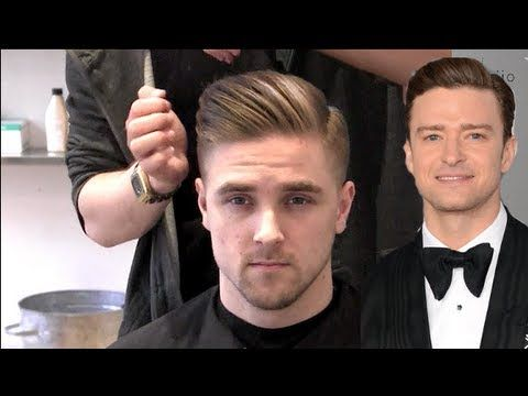 How to Style Your Hair Like Justin Timberlake - Album Mirror - New 2013 hairstyle short men - YouTube