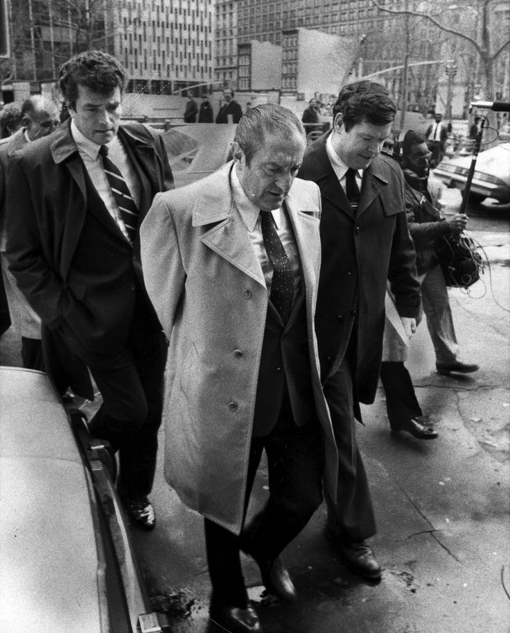 Paulie Castellano,former head of the gambino family ...
