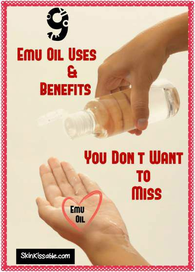 The great benefits & uses of Emu oil for skin & hair.