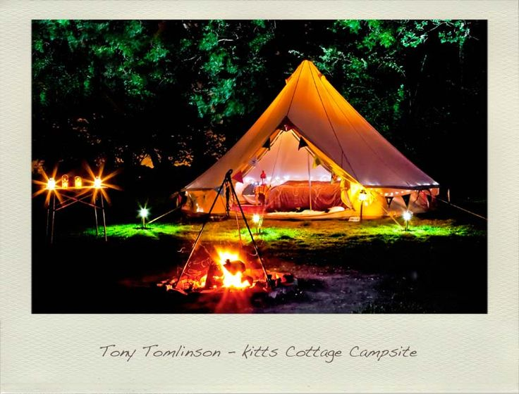 Bell Tents   Now Id sleep in this. :)