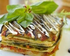 Lasagnes mozzarella et pesto (facile, rapide) - Une recette CuisineAZ
