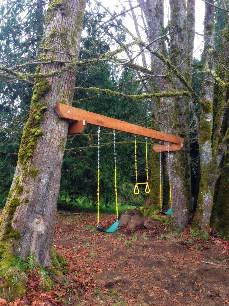 The Tuscan Home Spring Break Tree Swing