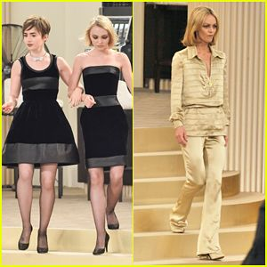 Lily Rose Depp & Mother Vanessa Paradis Share Runway for Karl Lagerfeld at Paris Fashion Week!