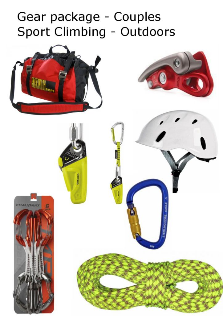 Gear Package - Couples Sport- Outdoor