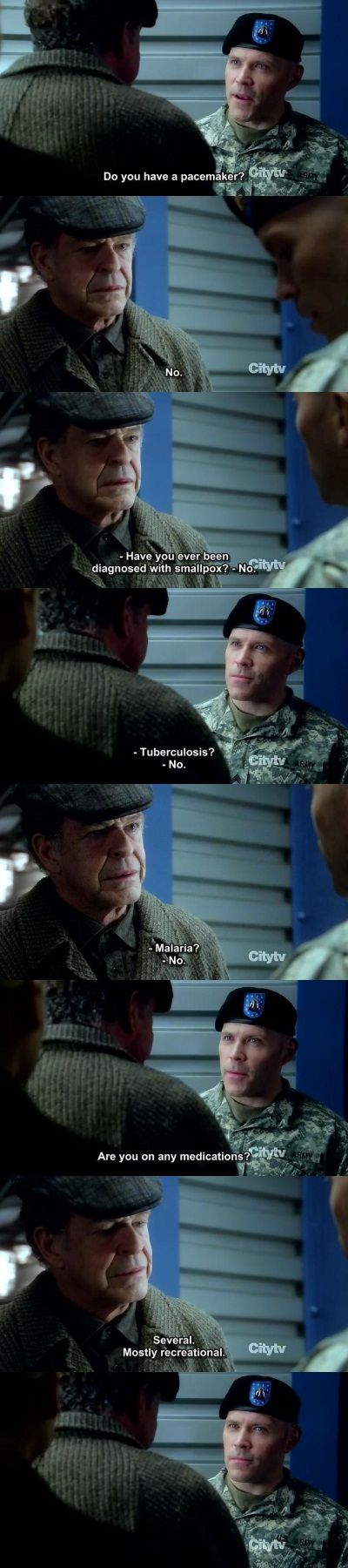 Walter Bishop--- Probably my all-time favorite television character.  God I miss this show