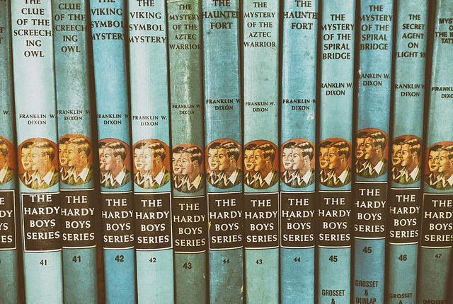 Inside the shadowy, corrupt business of kids' books.  15 Mysterious Facts About 'The Hardy Boys' | Mental Floss