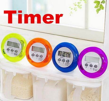 round magnetic lcd digital kitchen countdown timer alarm with stand cooking tool household 50 off