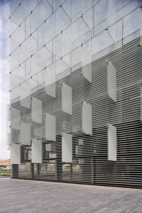 Telefonica's District C in Las Tablas / Madrid / Spain  Architect: Rafael de La-Hoz Castanys  From ArchiTeam  http://www.architravel.com/