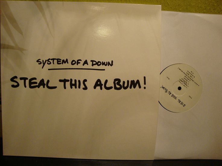 System Of A Down - Steal This Album LP