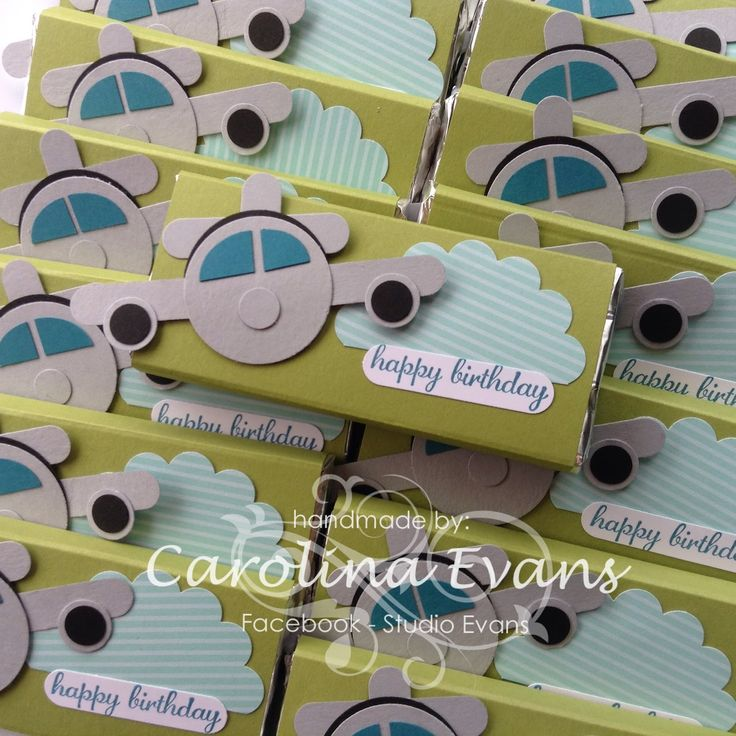 Carolina Evans - Stampin' Up! Demonstrator, Melbourne Australia: Flying Plane Punch Art chocolate wrappers