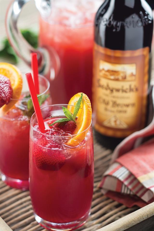 Sherry cocktail | Sherrie-skemerkelkie #recipe #braai #drink