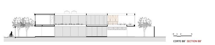 Imagem 50 de 52 da galeria de Casa Jardins / CR2 Arquitetura. Corte B