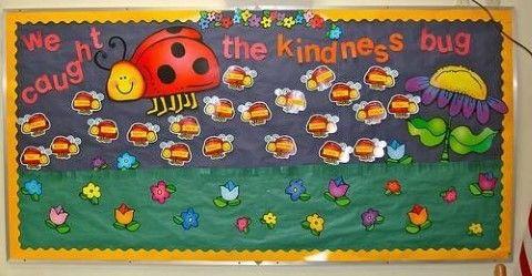 classroom decorations + flowers | Cute Bulletin Board Ideas | Bulletin Board Ideas & Designs