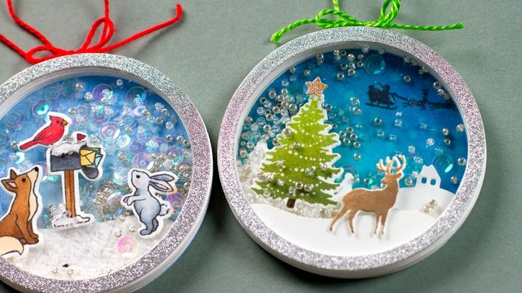 Using craft suppliers to make shaker ornaments. ** SUPPLIES ARE LINKED TO STORES BELOW ** For more info: http://jmink.me/2dE06hd ------ SUPPLIES ------ These...