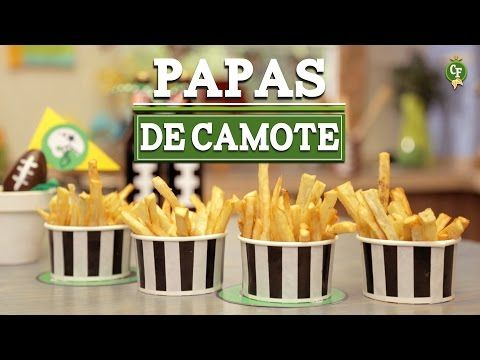 ¿Cómo preparar Papas de Camote? - Cocina Fresca