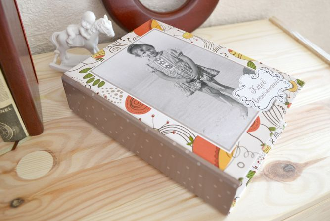 Pretty box for your photos