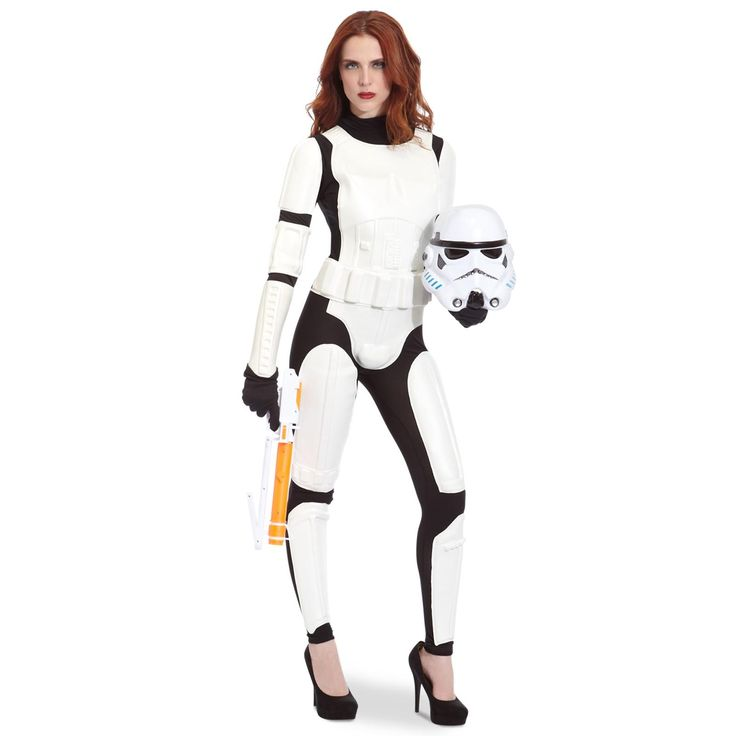 Star Wars Female Stormtrooper Head-to-Toe Look