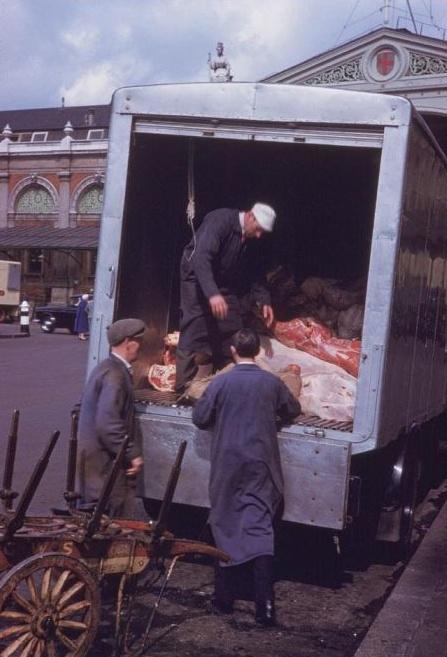 Smithfield Market in 1961.
