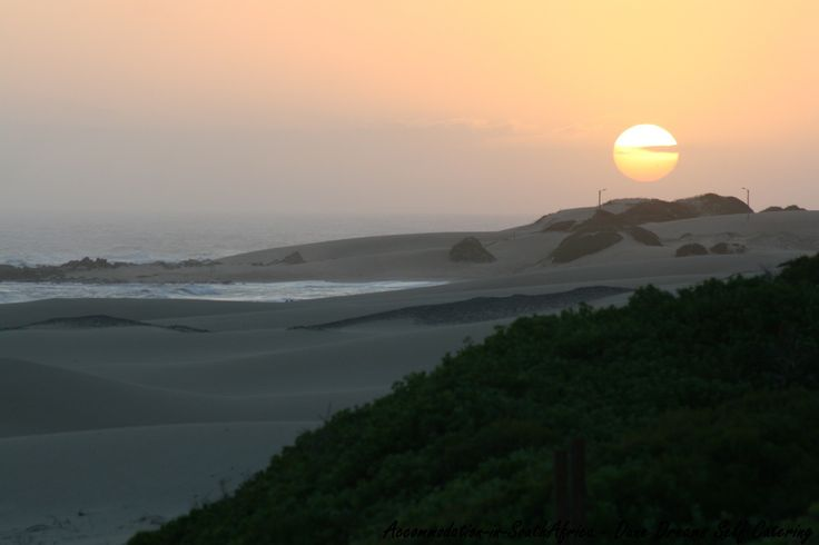 Beautiful sunsets at Dune Dreams Selfcatering. http://www.accommodation-in-southafrica.co.za/EasternCape/CannonRocks/DuneDreamsSelfCatering.aspx