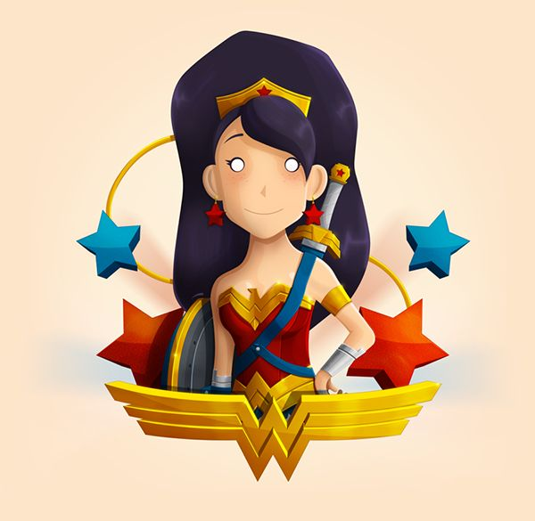 Wonder Woman Fan Art   Wonder Woman is a fictional character appearing in American comic books published by DC Comics. Wonder Woman was created by the American psychologist and writer William Moulton Marston and first drawn by H. G. Peter.