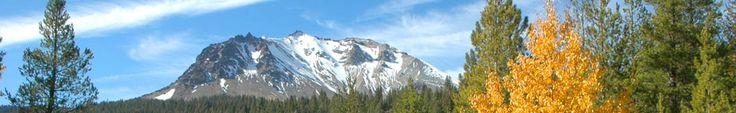 Lassen Peak from Hat Creek - Crags Campground - Lassen National Park