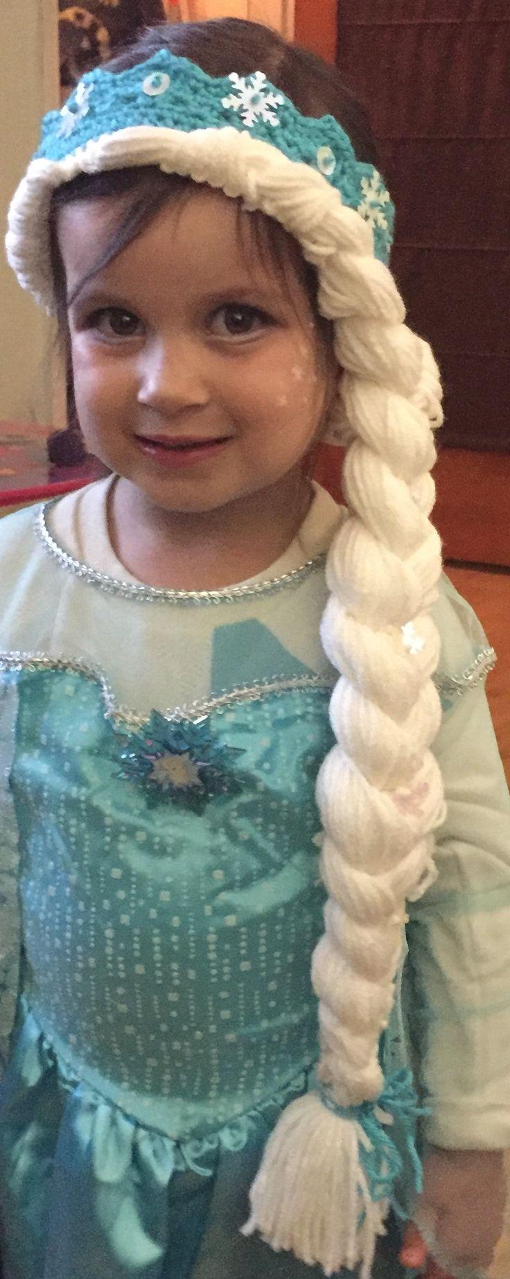 Elsa Crown & Braid