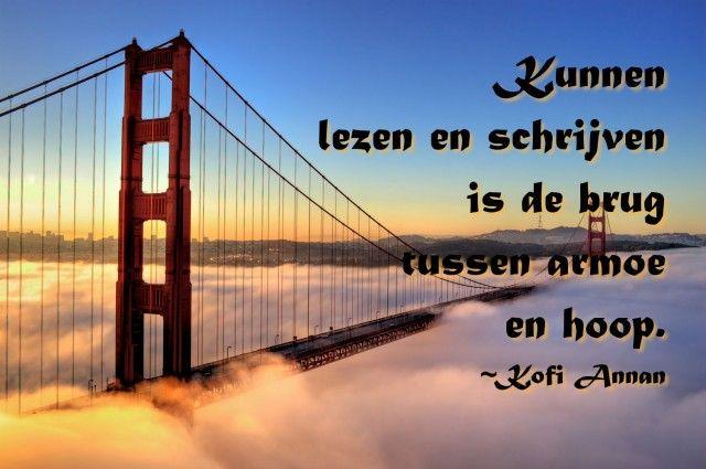 Quote van de week 5-2015 : tussen armoe en hoop -- Tekstbureau Van Ginneken
