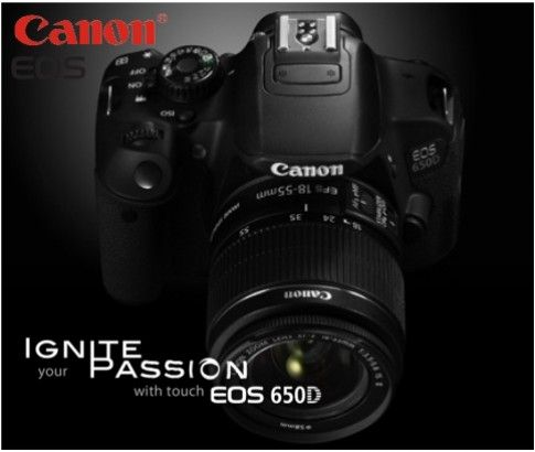 Canon offer unique product for its customers in terms of quality and price. This brand launched a latest EOS 650D Digital SLR Camera Kit available at Ikoala.com.au for just $699.00.