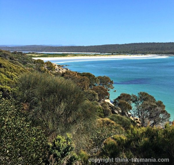 Blanche Point #Beach via St Helen #Tasmania Article and photo for think-tasmania.com