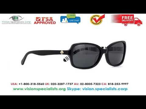 43ead495d69f7 Kate Spade AYLEEN P S QG9RA Polarised Sunglasses