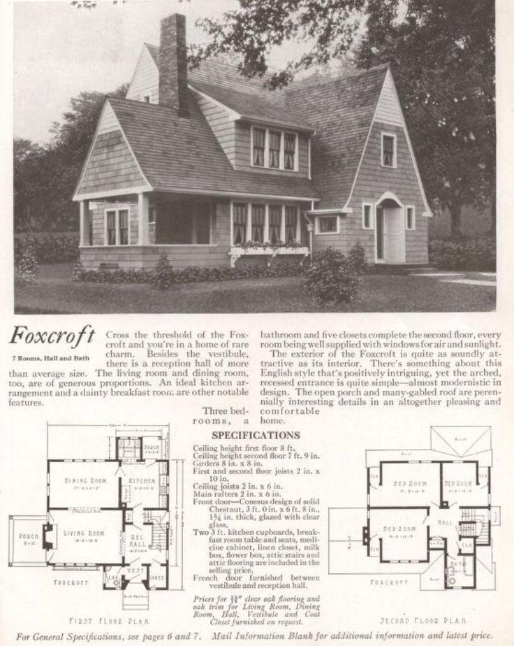 Vintage Houses Vintage House Plans Mid Century