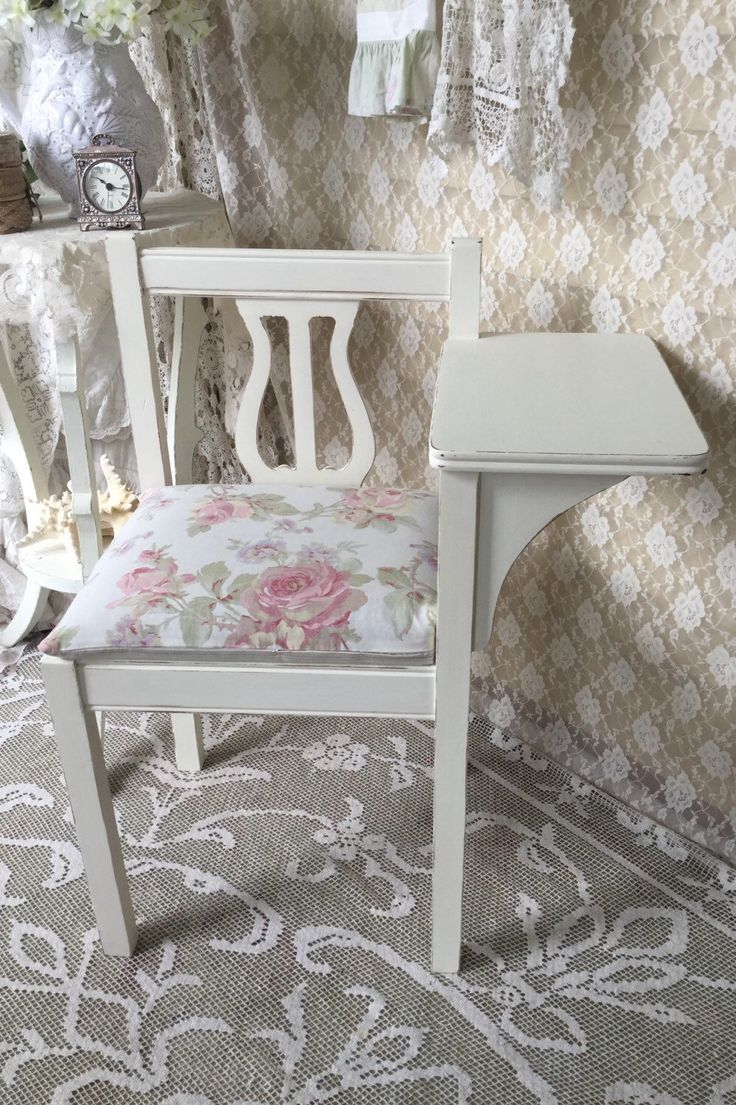 Shabby Cottage Gossip Bench Telephone Stand Gossip seat Shabby French Telephone Table gossip table  1940's svfteam tvat by Fannypippin on Etsy https://www.etsy.com/listing/247600132/shabby-cottage-gossip-bench-telephone