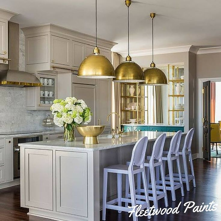 The Kitchen Is The Perfect Room To Add Hints Of Colour In Unique Places. U0027