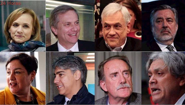 Este será el orden de los candidatos presidenciales en las papeletas