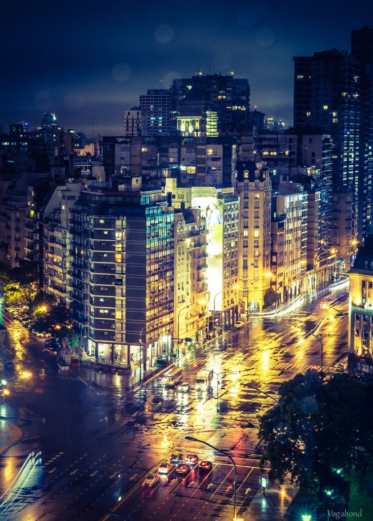 When it rains in Buenos Aires