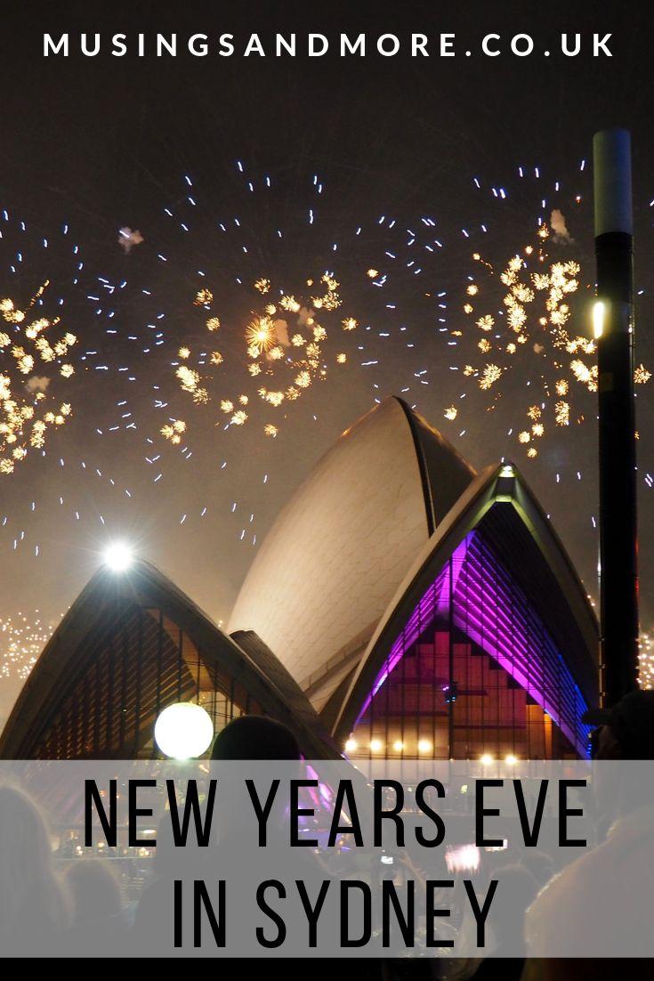 SPENDING NEW YEARS EVE IN SYDNEY, AUSTRALIA Sydney new