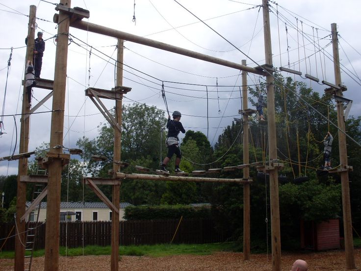 Ariel Assault Course, this is a fun outdoor activity which gets people out of the house, its something good to enjoy whilst outdoors and also keeps you focused because you have to concentrate on it also.