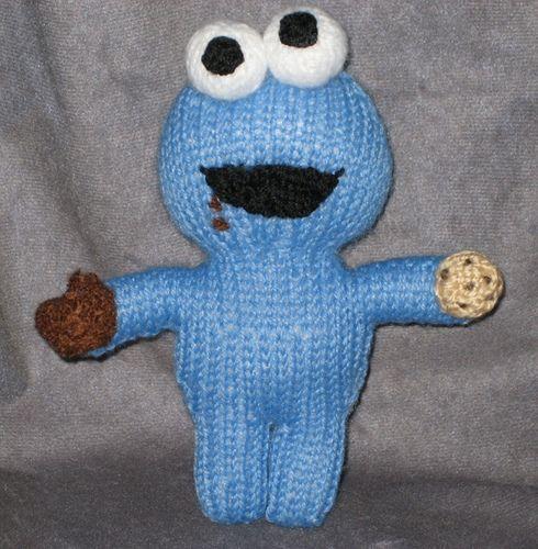 Amigurumi Cookie Monster : FREE Cookie Monster Amigurumi Knitting Pattern and ...