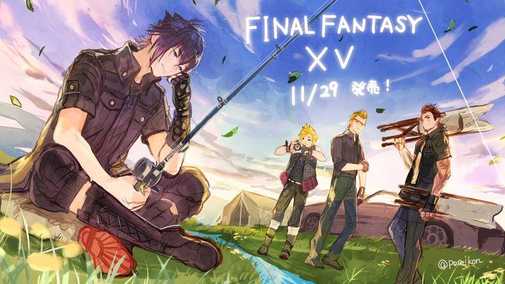 Final Fantasy XV #FFXV 15