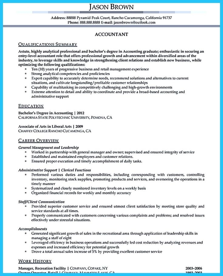 Director of finance and administration resume sample  Cv writing