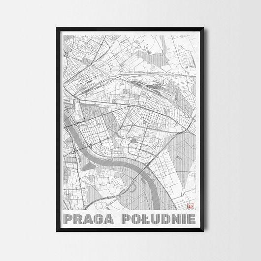 plakaty-Plakat Praga Południe - CityArtPosters