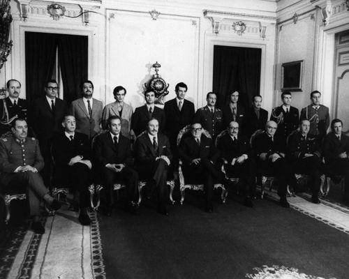 gabinete Presidente Allende