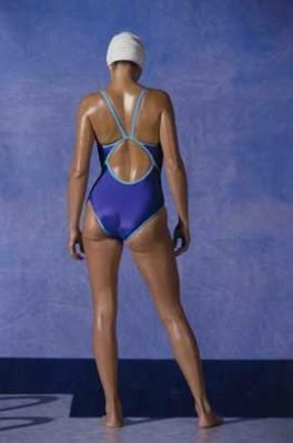 1985 Figaro Maillot B by Frank Horvat