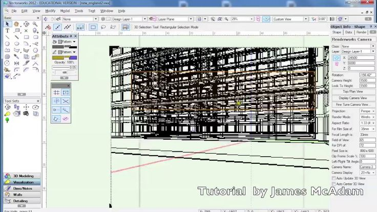Vectorworks render+animation