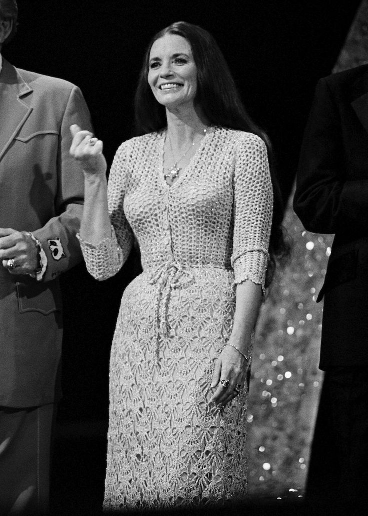 June Carter Cash. A woman of strength, class, and beauty that stood by her husband before they were even together when no one else would, including his, then, wife. True love is unconditional and fully devoted regardless of time or circumstances. <3